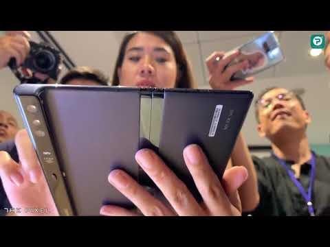 Hé lộ điện thoại nắp gập tuyệt đẹp của Huawei