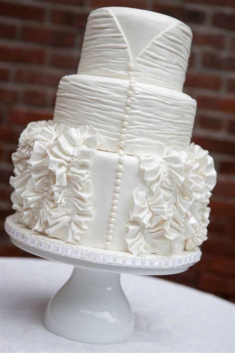 Lulu's Event Design Top Ten All White Wedding Cakes