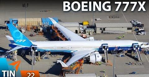 TIN MÁY BAY #22: Hé lộ hình ảnh Boeing 777X từ Mỹ do Huy Đỗ chụp | Yêu Máy Bay