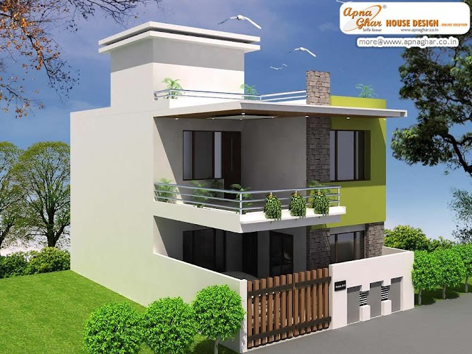 Rumah Minimalis Tanpa Atap Genteng   Ide Rumah Minimalis