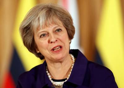 La premier británica, Theresa May. (AP)