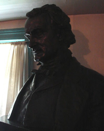 Poe Cottage bust