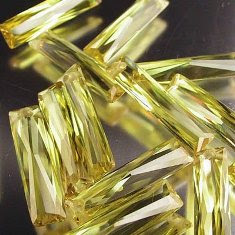 CZ_Yellow_Color_Baguette_Beads_China_Wholesale