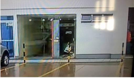 Bandidos arromba caixa eletrônico em Natal