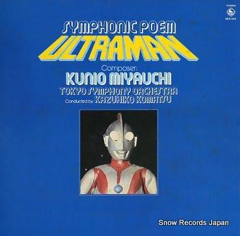 KOMATSU, KAZUHIKO symphonic poem ultraman