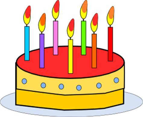 Birthday Cake clip art (112908) Free SVG Download / 4 Vector