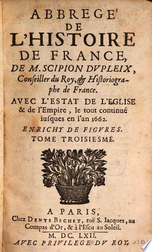 Livres A Lire Telecharger Abrege De L Histoire De France