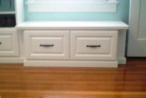 Closet shoe bench under window - - - other metro - by Alpha ...