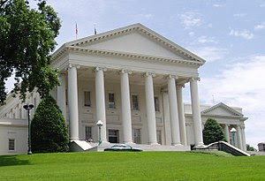 English: Photo of the Virginia State Capitol b...