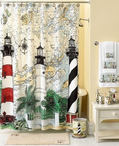 Nautical Theme - Bathroom decorating ideas