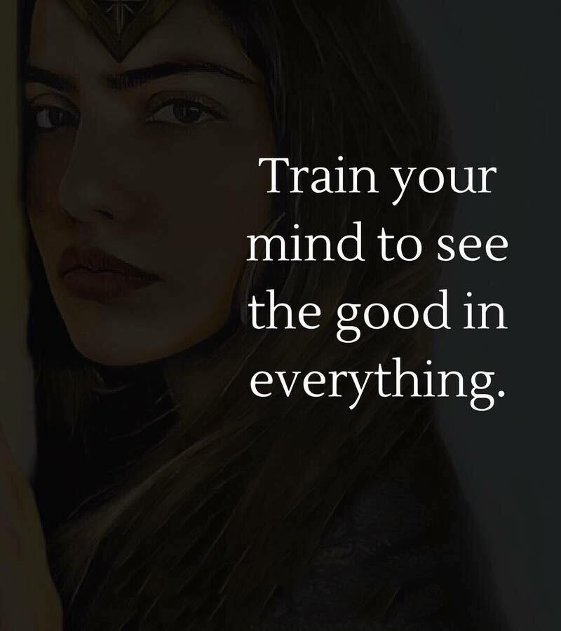 Train Your Ind To See Good Quotes Area