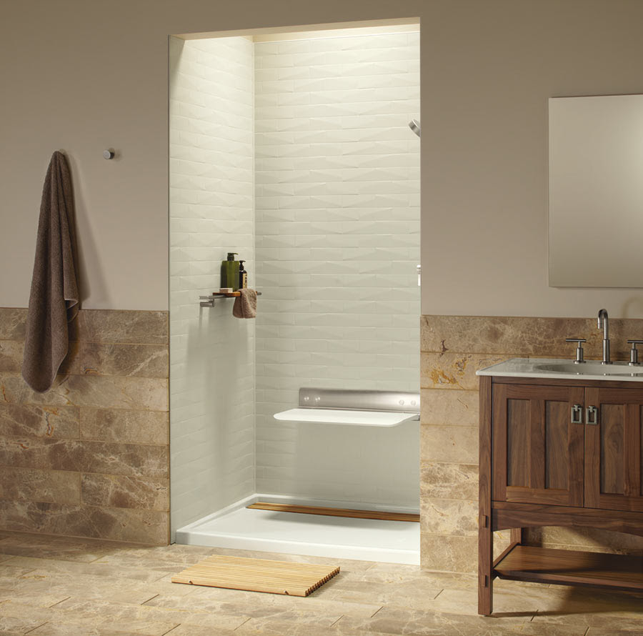 Luxury Shower Wall Panels Accessories and Storage System ...