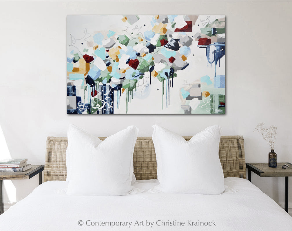 Size Matters 5 Tips For Choosing Art That Is The Right Size For Room Contemporary Art By Christine