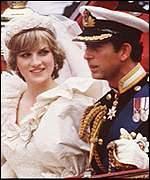 Perkahwinan Prince Charles & Princess Diana di St Paul's Cathedral, London, UK