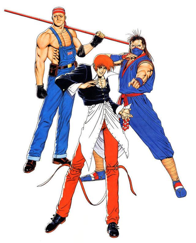 KOF '95 New Team