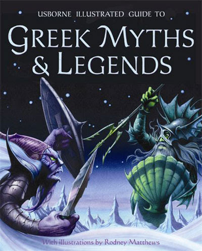 of the Greek gods and the