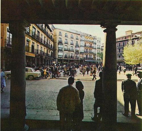 Plaza de Zocodover, Toledo, en 1967