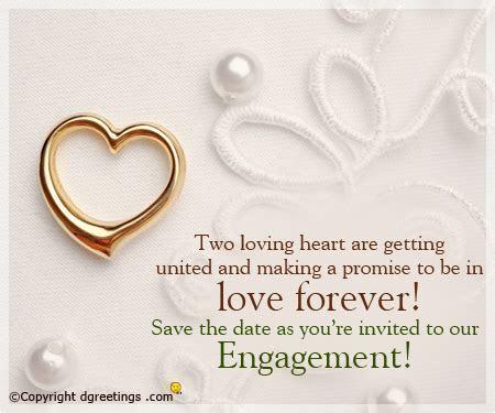 Engagement Invitation Wording, Engagement Party