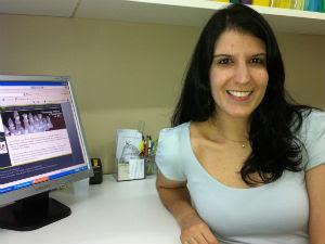 Desistências acontecem geralmente no 4º período, diz Virna Vivas (Foto: Juirana Nobres / G1ES)