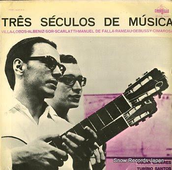 CACERES, OSCAR & TURIBIO SANTOS tres seculos de musica