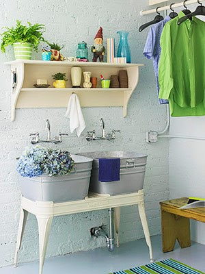 Lovely Laundry Rooms… | The Vintage Home