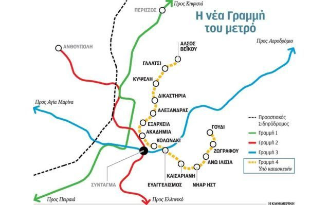 Το 2017 η Γραμμή 4 του μετρό