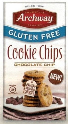 Archway Gluten Free Cookie Thins Chocolate Chip Home Style ...
