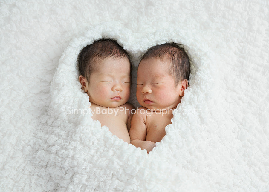Newborn Twin Girls Hawaii