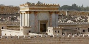A model of the second Holy Temple (Photo: Shutterstock.com)