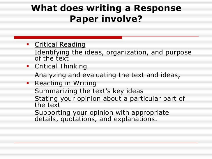 How to Write a Response Paper: 15 Steps (with Pictures) - wikiHow