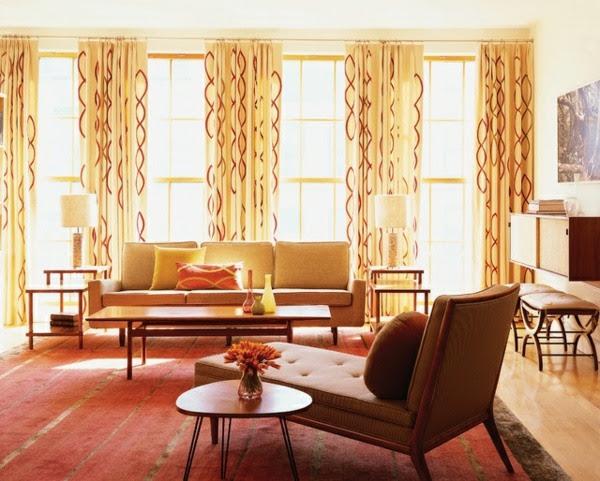Gardinen im Wohnzimmer - Deko Ideen für jede Einrichtung