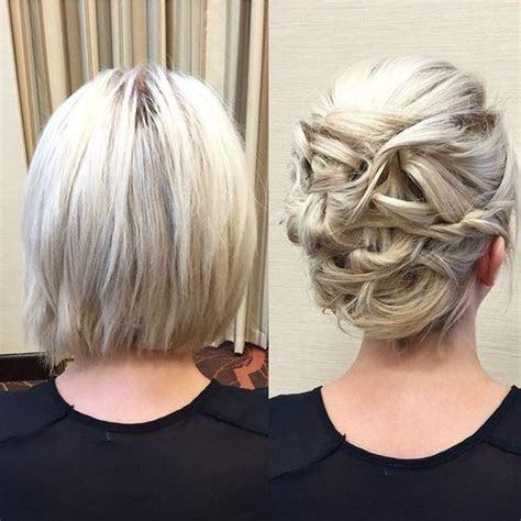 25  best ideas about Short bob updo on Pinterest   Hair