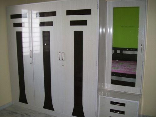 3 door wardrobe designs for bedroom indian  | 350 x 350