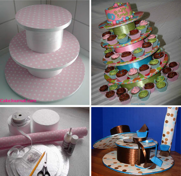 How To Make Your Own Cupcake Stand At Home With Kim Vallee