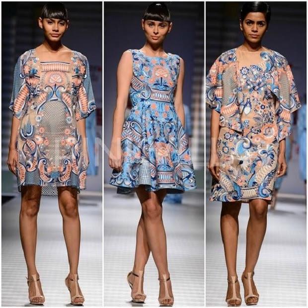 Honeymoon worthy dresses from Wills India Fashion Week