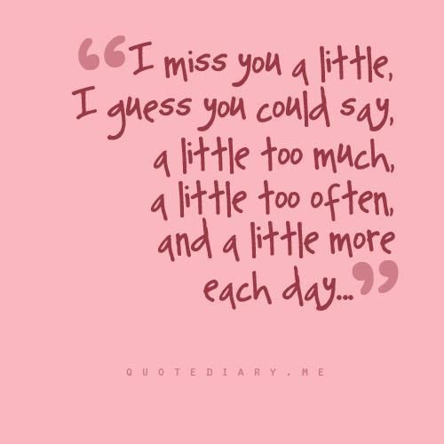 I Miss You A Little Too Much Pictures Photos And Images For