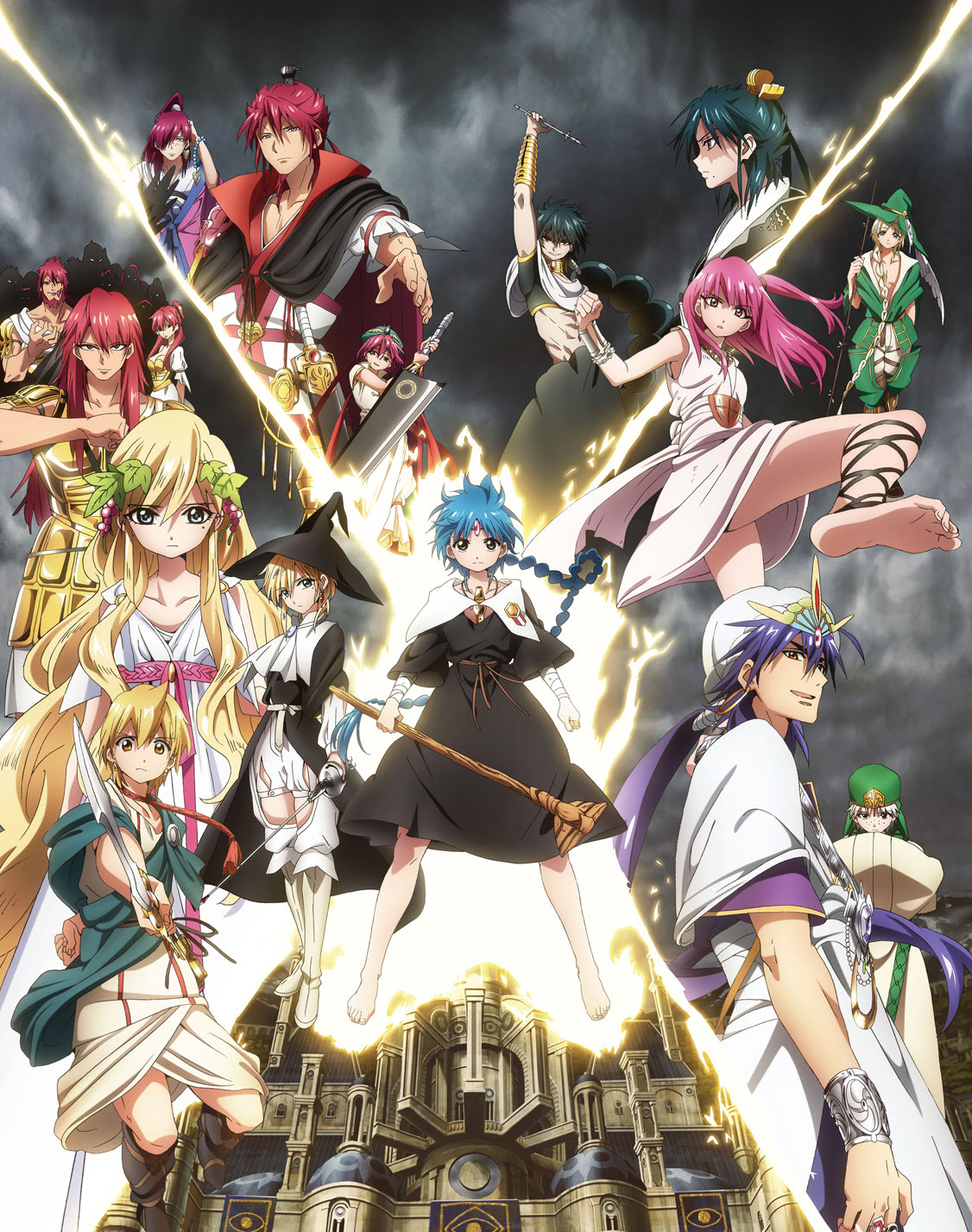 Magi The Labyrinth Of Magic Official Us