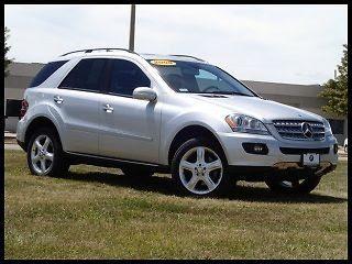 Find used 2008 Mercedes-Benz M-Class ML-350 4MATIC 3.5L V6 ...