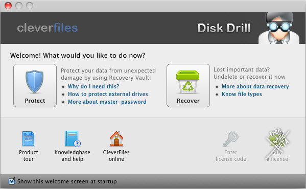 Disk Drill_mac recovery software