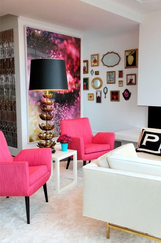 Fabulous pink chairs