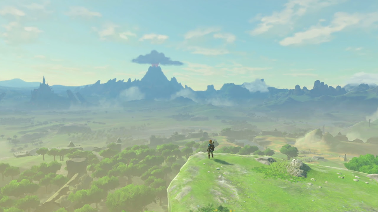 How Breath of the Wild dunks on most open world games screenshot