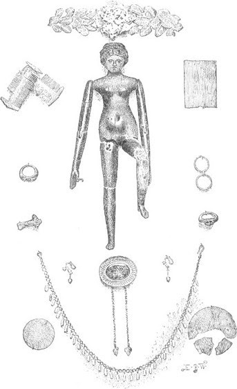 OBJECTS FOUND IN THE GRAVE OF CREPEREIA TRYPHÆNA