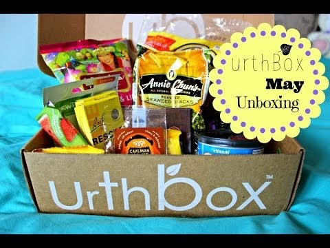 URTHBOX ♡♡♡ MAY SUBSCRIPTION UNBOXING | Vegan, Gluten Free, & Healthy Snacks!