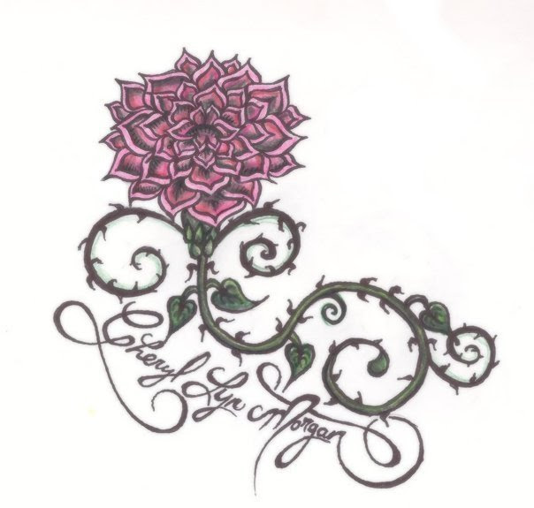 Tattoo Design - flower tattoo