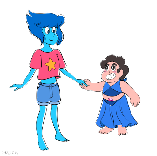 shadowmark3 said: You wanna draw a clotheswap between Steven and Lapis? Answer: This was enlightening.