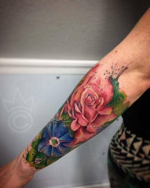Flower Half Sleeve Tattoo Best Tattoo Ideas Gallery