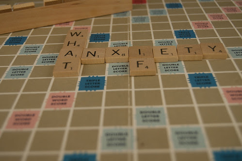 Daily Shoot Anxiety -- dailyshoot anxiety scrabble letters daily