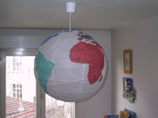 Safe as Milk » Blog Archive » My first globe