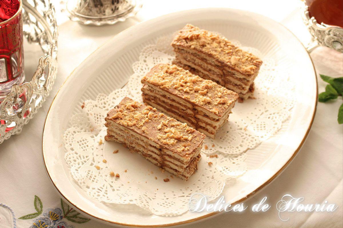 Gâteau sans cuisson façon Tiramisu à la crème au beurre ...