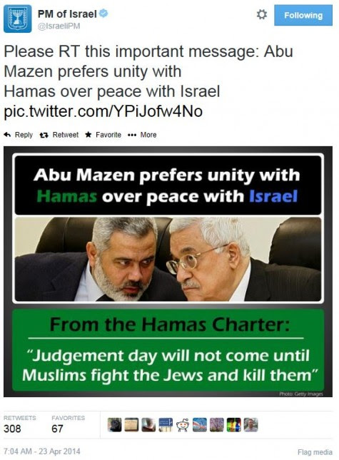 http://legalinsurrection.com/wp-content/uploads/2014/04/Twitter-@IsraelPM-Netanyahu-Hamas-PLO-Unity-e1398272601591.jpg